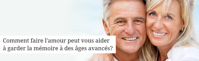 Comment faire l'amour peut vous aider à garder la mémoire à des âges avancés?