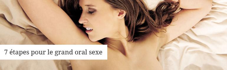 Se préparer pour le sexe oral